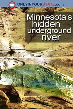 The South Branch of the Root River flows underground, into a beautiful cave. You can visit the underground river at Forestville/Mystery Cave State Park. Vacation Places, Vacation Spots, Places To Travel, Places To See, Vacation Destinations, Vacations, Michigan, Road Trip Usa, Great Lakes