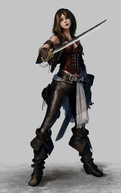 Sailor. Female Pirate