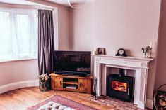 How we transformed our living room from 'grantastic' to fantastic. We hope that our makeover inspires you with your renovation. 1930s Living Room, Alcove Shelving, Open Plan Kitchen Diner, 1930s House, Home Safes, Before And After Pictures, Other Rooms, Living Room Designs, New Homes