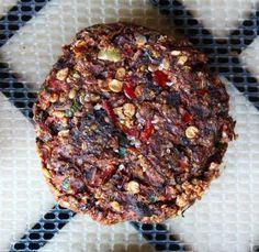 Raw Vegan Burgers | Nut-free | Amanda Nicole Smith
