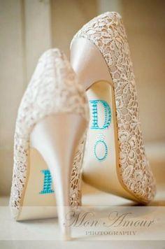 7e899e94c 16 Fashionable DIY Heels Makeover. Diy Lace Wedding ShoesBridal ...