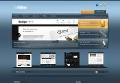 PSD to HTML Tutorials – Five New Web Layouts Tutorials Converting PSDs to HTML/CSS