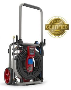 Briggs & Stratton 2000 MAX PSI at GPM Electric Pressure Washer with Power flow+ Technology, Detergent Tank, High-Pressure Hose, and Nozzle Cleaning Concrete Driveway, Clean Concrete, Best Pressure Washer, Pressure Washers, Colours That Go With Grey, Interior Wood Stain, Concrete Driveways, Kitchen Wall Colors, Home Tools