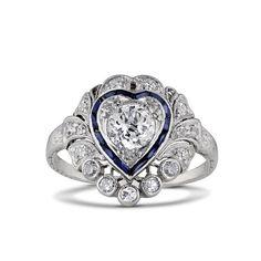 Vieille Europe coupe bague, bague Art Deco ancienne, européenne demi Carat, bague de fiançailles en 1950, bague en diamant des années 1950, anneau classique, vieille coupe, GL394