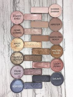 URBAN DECAY NAKED PALETTE DUPES WITH MAKEUP GEEK EYESHADOWS