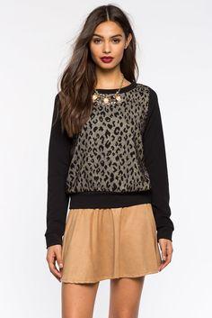 Glammed Cheetah SweatshirtGlammed Cheetah Sweatshirt