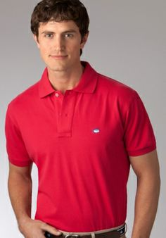 The Skipjack pique polo shirt for men is our best seller for a reason; Best Polo Shirts, Sports Shirts, Polo Classic, Mens Attire, Southern Tide, Pique Polo Shirt, Polo Ralph Lauren, Menswear, Mens Fashion