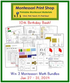 Win the Math bundle! Great Giveaway!