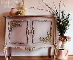 Diy Furniture Appliques, French Provincial Home, Fragrant Roses, Paint Companies, Dixie Belle Paint, Vintage Birds, Furniture Makeover, Furniture Ideas, Painted Furniture