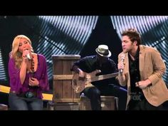 Elise Testone + Phillip Phillips croon on 'Stop Draggin' My Heart Around' <3 <3 <3