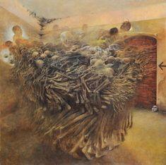 Untitled- Zdislav Beksinski, Image via www.wikiart.org
