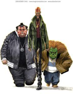 Street Fighter Thugs by Bobby Chiu