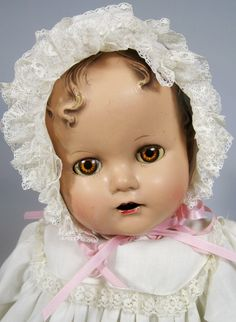 Ideal Miracle on 34th Street Baby Beautiful Vintage Composition Doll