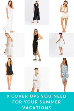 9 Cover Ups You Need for Your Summer Vacations