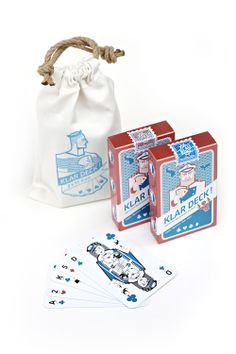 Spielkarten maritim Set
