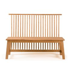 Studioilse Two-Seater Bench with Back: Remodelista