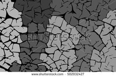 Grey stones. Grunge texture. Vector abstract background.