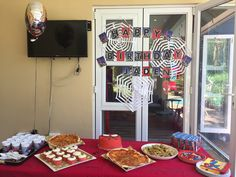 Spider-Man theme party for my 5 yr old son
