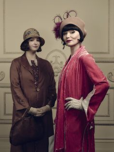 From the exhibition of Miss Fisher Murder Mysteries.