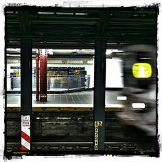 waiting for the R train....