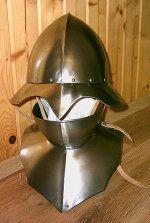 Helmet with Bevor