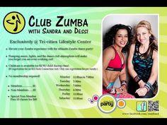 Club Zumba With Sandra & Dessi Johnson City Tennessee