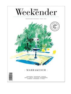 The Weekender back issue with illustrated cover