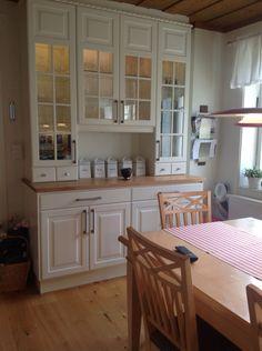 Ideas For Kitchen Ikea Bodbyn Farmhouse Furniture, Kitchen Furniture, Kitchen Interior, Kitchen Decor, Furniture Storage, Diy Furniture, Storage Benches, Furniture Websites, Design Kitchen
