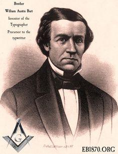 William A. Vernon celebrity inventor,,He also discovered massive Iron reserves in upper Mich. as a surveyor Freemasonry, Knights Templar, Illuminati, Vernon, Abraham Lincoln, Michigan, History, Celebrities, Lost