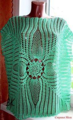http://crochelinhasagulhas.blogspot.com.au/2017/01/blusa-com-abacaxi-em-croche.html