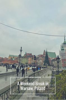 Warsaw, Poland for a Festive/Winter Break. Read about what we got up to on our latest winter break in a new city. Eating and drinking our way around as per usual, seeing the sights, festivities and more.. #VisitEurope #Poland #WinterBreak #Travel