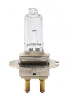 Halogénová žiarovka s centrovanou päticou PG22