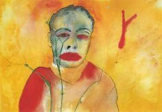 Francesco Clemente, Fire, 1982