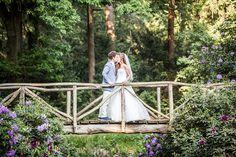 Zomerse bruiloft in park #bruidsfotograaf #bruidsfotografie Dario Endara