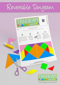 Tangrams to cut out - Providing teachers and pupils with tangram activities Pattern Blocks, Quilt Patterns, Tangram Puzzles, Teen Programs, Numeracy, Craft Activities, Paper Piecing, Early Childhood, Free Printables
