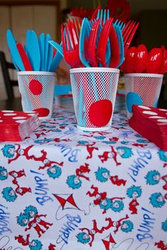 Dr. Seuss First Birthday Party Feature