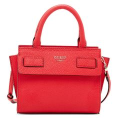 http://bit.ly/1U6kpkC GUESS Cate Petite Satchel from ELITIFY