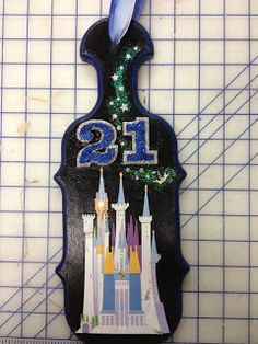 21st Birthday Paddle - Disney themed! Made by me :)