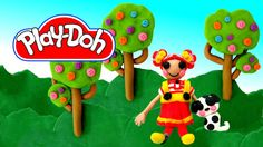 Play-Doh Lalaloopsy Ember Flicker Flame Play Doh Tutorial
