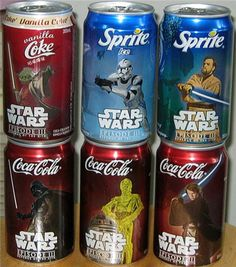 @Amanda Stone Gundersen--Kai would LOVE these!  Since he's never had a coke, I nominate myself to drink them and give him the cans.  hehehe