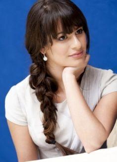 Lea Michele, braid, #celebrity