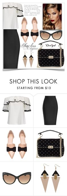 """""""Rosegal"""" by semir-damira ❤ liked on Polyvore featuring Roland Mouret, Valentino, Tom Ford, Toolally and Charlotte Tilbury"""