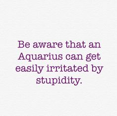 Aquarius hahaha