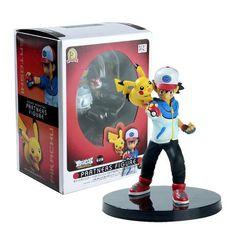 Ash Ketchum and Pikachu - 14 CM Action Figure