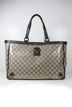 Gucci Large Handbags Crystal (Coating) Beige « Clothing Impulse