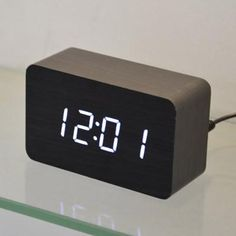 Designer LED Digital clock, Sounds control ,desktop table clock