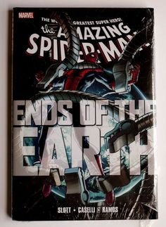 Spider-man ends of the #earth #marvel wrapped hardcover graphic novel #comic book,  View more on the LINK: 	http://www.zeppy.io/product/gb/2/172174543242/