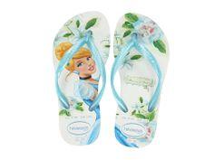 Havaianas Kids Slim Princess Disney Flip Flops (Toddler/Little Kid/Big Kid) White/Pink - Zappos.com Free Shipping BOTH Ways