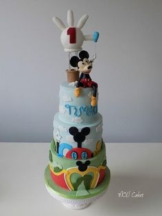 Mickey Clubhouse by MOLI Cakes