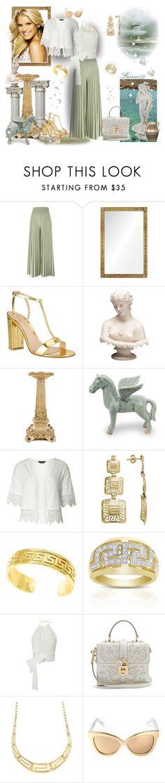 """I miss Greece!"" by lumi-21 ❤ liked on Polyvore featuring Givenchy, Barclay Butera, Gianvito Rossi, Zara Home, NOVICA, Dorothy Perkins, Finesque, lila.eugénie, Dolce&Gabbana and Linda Farrow"